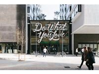 Modern, self-contained office space is available on rent at OLD STREET LONDON
