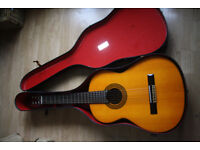 FENDER GUITAR FC20 - CLASSIC ACCOUSTIC GUITAR WITH HARD CASE EXCELLENT CONDITION.