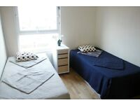 BEAUTIFUL TWIN ROOM TO SHARE WITH A FRIEND 2 MINUTES WALK FROM ST JOHNS WOOD//27P