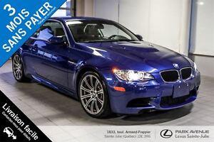 2012 BMW M3 *V8*414 HP* Convertible, manuel, rare ! *