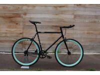 Christmas Sale GOKU Cycles Steel Frame Single speed road bike TRACK bike fixed gear bike a