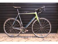 CANNONDALE SUPERSIX 105 ROAD BICYCLE.......