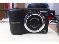Canon Powershot A1400 HD camera. well used.