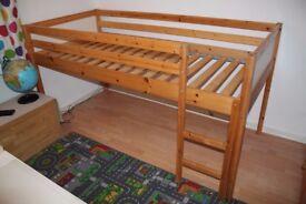 IKEA Vradal child's mid sleeper bed
