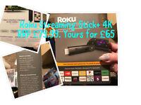 Roku 4K streaming stick+ Brand New Sealed