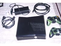 Xbox 360 with 55 Games and Kinect