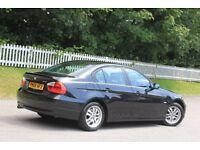 BMW 3 SERIES 2.0 318i ES 4dr (black) 2006