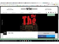 THE THE (Matt Johnson) concert tickets, Troxy, 7th June, x4 available