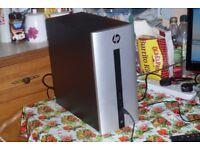 HP Pavilion 550 PC, Core i7-6700 3.4GHz, 16GB RAM, 3TB, Radeon 2GB R5 GPU, Win 10