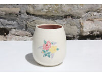 Vintage Poole Pottery Pot / Small Vase Shape 287 Art Pottery Ceramic Trinket Dish
