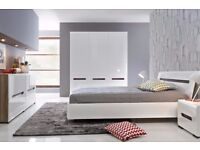 AZTECA BEDROOM, BESTSELLER,ORIGINAL,SPACIOUS,STORAGE,HIGH GLOSS,HIGH QUALITY,!!DELIVERY AVAILABLE!!