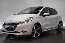 PEUGEOT 208 1.6 E-HDI FELINE NAVIGATION VERSION 5d 115 BHP (white) 2013