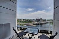 Furnished new 2 bedroom, 2 bathroom, Griffintown