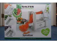 Salter Spiralizer: The fruit and vegetable slicer