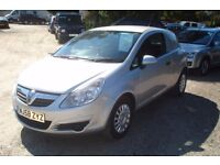 Vauxhall Corsa cdti Van 2008-58-reg, 1300cc turbo diesel, new mot on purchase, 70,000 miles,
