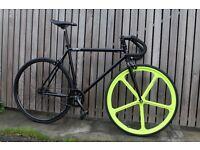 Special Offer GOKU CYCLES Steel Frame Single speed road bike TRACK bike fixed gear fixie bike r1