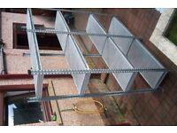 Galvanised Steel Office/Garage Shelving