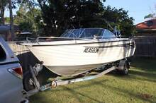 Savage Osprey 540 with merc 140hp Bowrider,ski,wake,fishing boat Medowie Port Stephens Area Preview