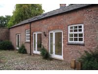 Cottage to let in quiet location near Holmes Chapel