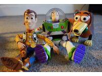 Toy Story Toys - Bundle - Buzz, Woody and Slinky