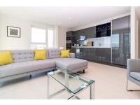New Built Luxury 3 Bed 2 Bath Apartment in Glasshouse Gardens, Stratford, Balcony, Gym, Concierge-VZ
