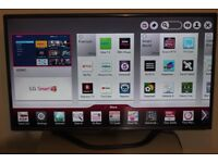 "47"" FULL SMART LG 47LA620V FULL HD LED SMART TV WITH BUILT IN FREE VIEW IN PERFECT CONDITION."