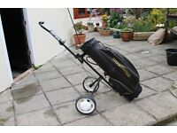 Golf Bag and Trolley good condition.