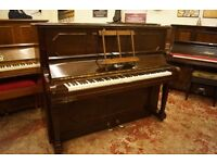 Upright piano, Weber, over strung and tuned. Delivery available UK wide