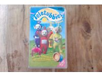 Teletubbies Nursery Rhymes - RARE - VHS Video