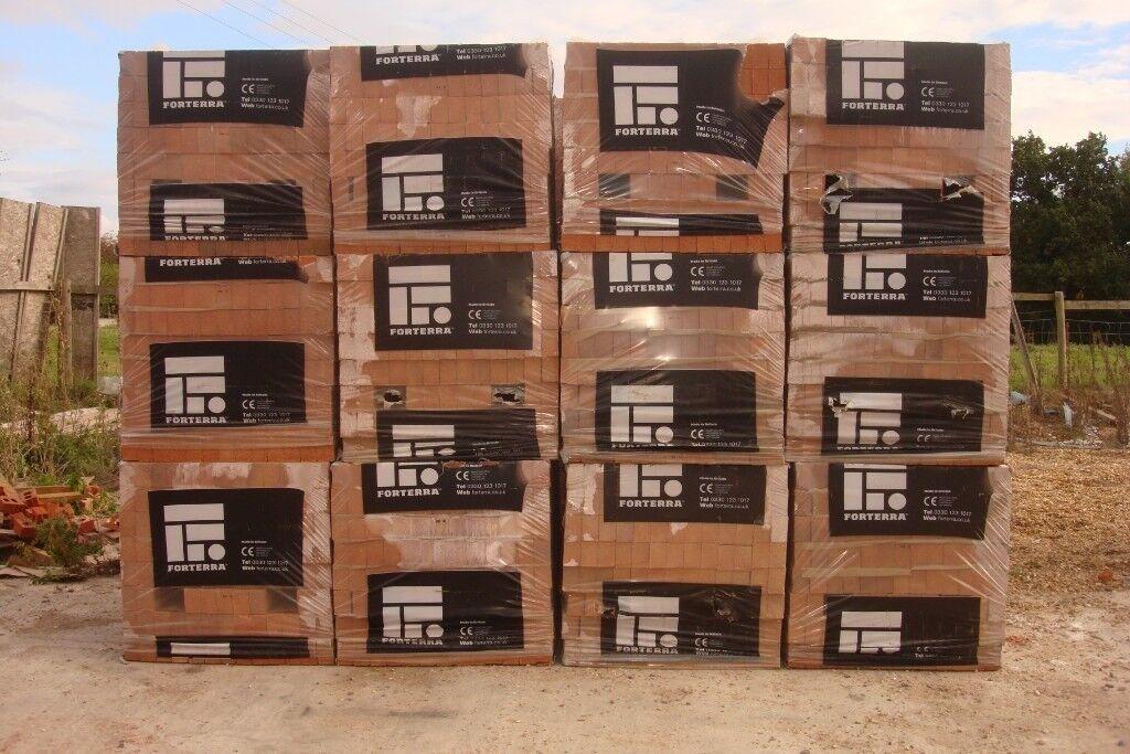 65mm-Forterra-County-Red-Multi-Dragfaced-Brick- £125 per pack   in  Nuneaton, Warwickshire   Gumtree