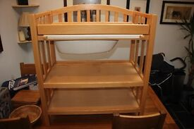 Mamas and Papas Solid Pine Changing Table