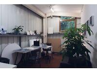 Creative studio space in Hackney community