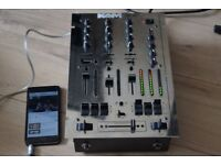 KAM 3 CHANNEL DJ MIXER POWER CABLE/CAN BE SEEN WORKING