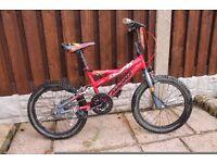 Boys Bike Magna Fireblaze, 18inch wheels