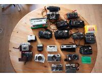 Job Lot UNTESTED Film/35mm Cameras