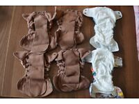 Newborn Cloth Nappies (TotsBots, Bumgenius, Lil Joeys...) some BRAND NEW