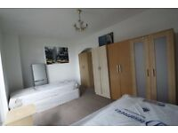 AVAILABLE NOW!!! MASSIVE DOUBLE ROOM TO OFFER IN SWISS COTAGE WITH BALCONY.