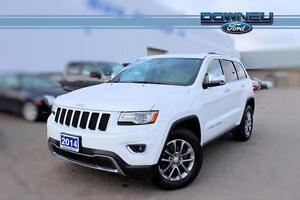 2014 Jeep Grand Cherokee LIMITED~LEATHER~HTD STEERING!!~NAV~BLUE