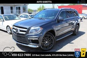 2014 MERCEDES GL350 BLUETEC 4X4, NAVI, CAM 360, DVD, PANORAMIC