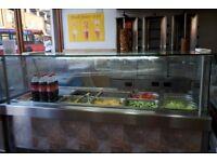 Salad Display Fridge