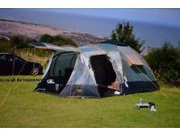 Atwoolls - Tetbury 6 berth tent plus various camping gear