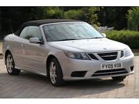 New Year bargain. Saab 9-3 Diesel Convertible Full Service History 53500 miles Great Condition