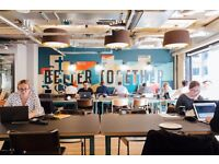 DESK SPACE IN CLEVERLY CONVERTED WAREHOUSE FOR RENT IN DEVONSHIRE SQUARE LONDON