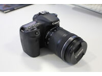 Canon EOS 70D 20.2MP DSLR with 18-135mm Lens and Accessories