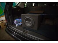 Pioneer TS-W2504SPL subwoofer for sale