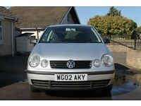 Volkswagen Polo silver! Great first car, ready to go