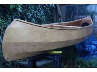 14ft Wooden Canadian canoe - Selway-Fisher Raven