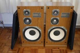 Kenwood JL-751 3 Way Speaker System, Floor Stander.