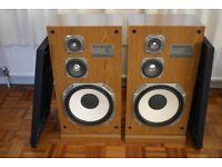 Kenwood JL-751 3 Way Speaker System, Floor Stander.