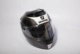 Shark Carbon Helmet Like New (size M)